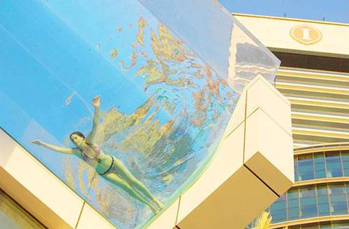 Viagem criativa por dani e andre for Piscina 25 metros