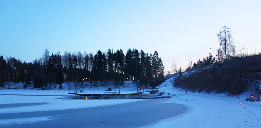 A Finlândia das saunas e buracos de gelo