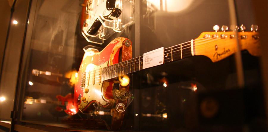 O Museu de Guitarras no interior da Suécia