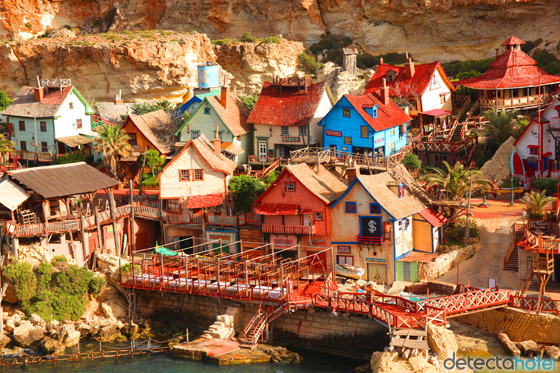 Ilha de Gozo - Vila do Popeye