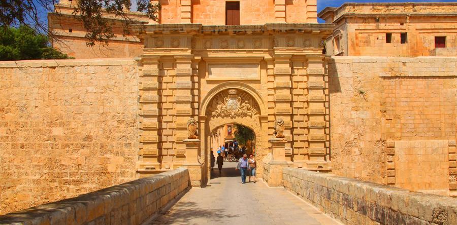 Mdina: a Cidade Silenciosa