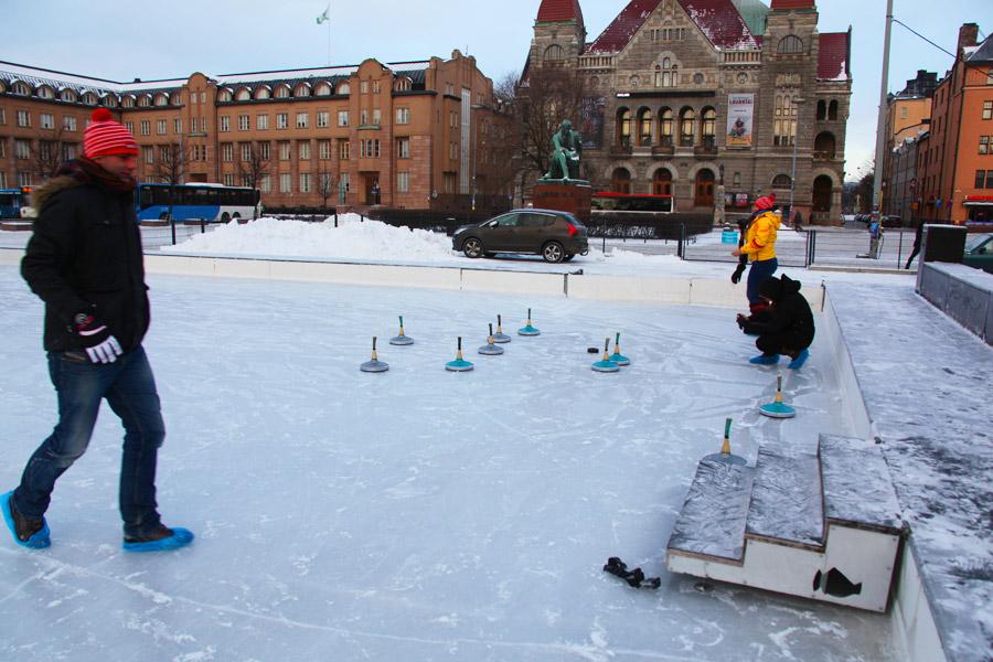 Curling Helsinki