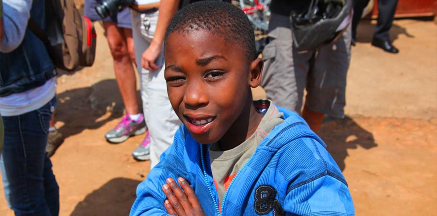 Pedalando pelo lendário bairro do Soweto
