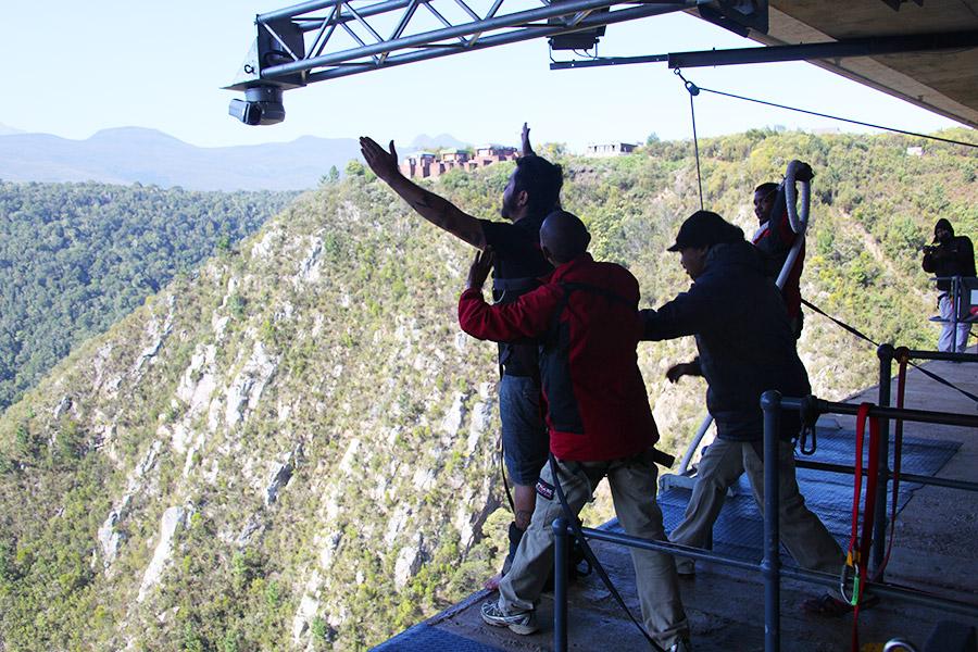 Bungee Jump na África do Sul!