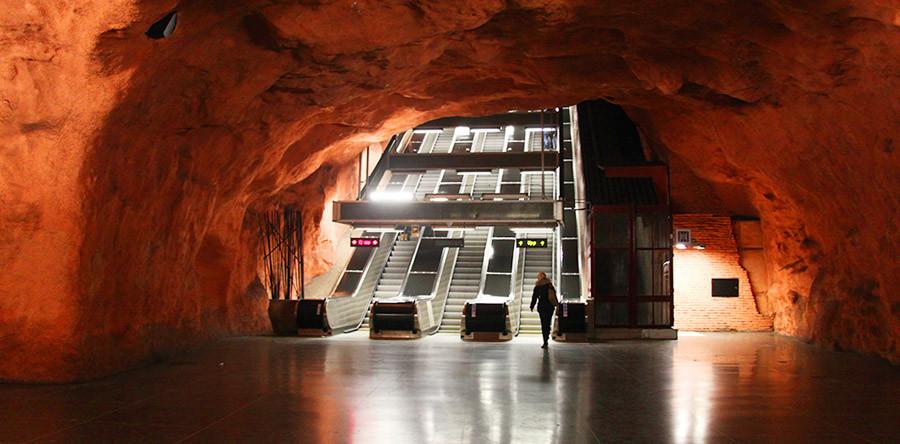 O incrível metrô de Estocolmo!