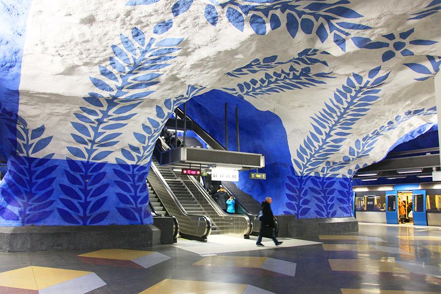 Metrô de Estocolmo!