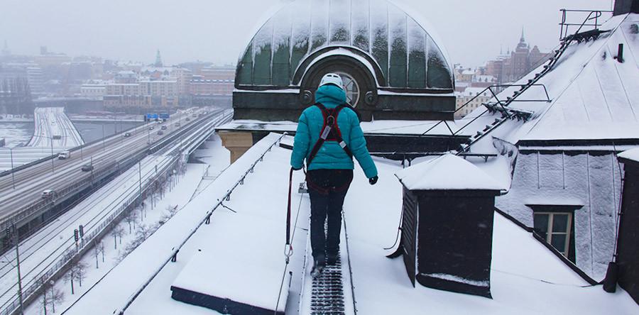 VÍDEO: Pelos telhados de Estocolmo!