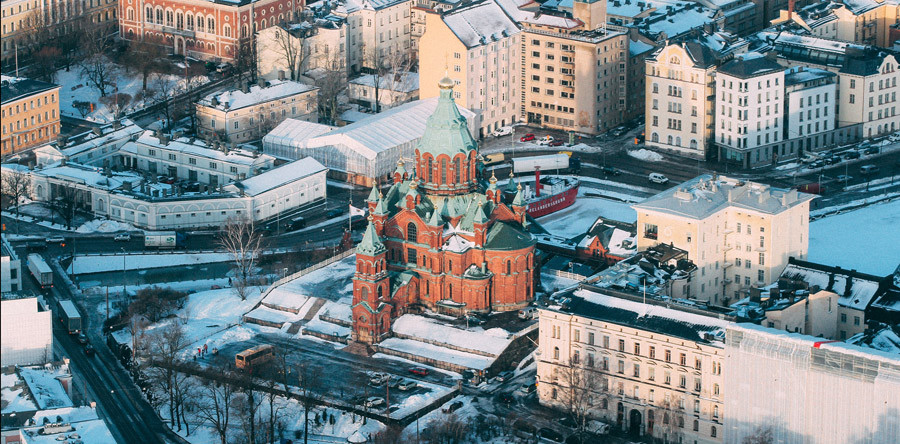 VÍDEO: Passeio de helicóptero por Helsinki!