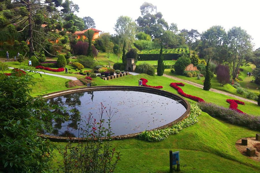 Amantikir: Os jardins que falam em Campos do Jordão!