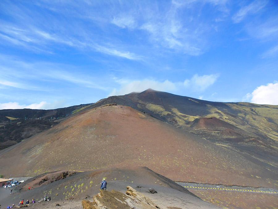 Etna: um vulcão ativo!