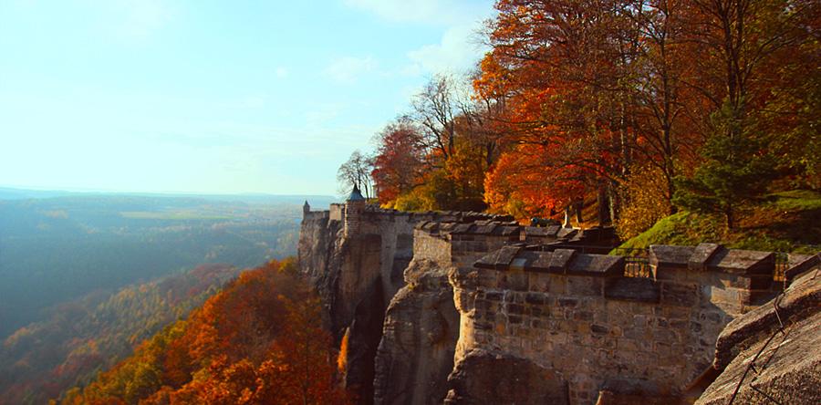 Destino mágico: A Fortaleza de Königstein