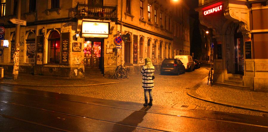 Uma noite na Neustadt: o Lado B de Dresden