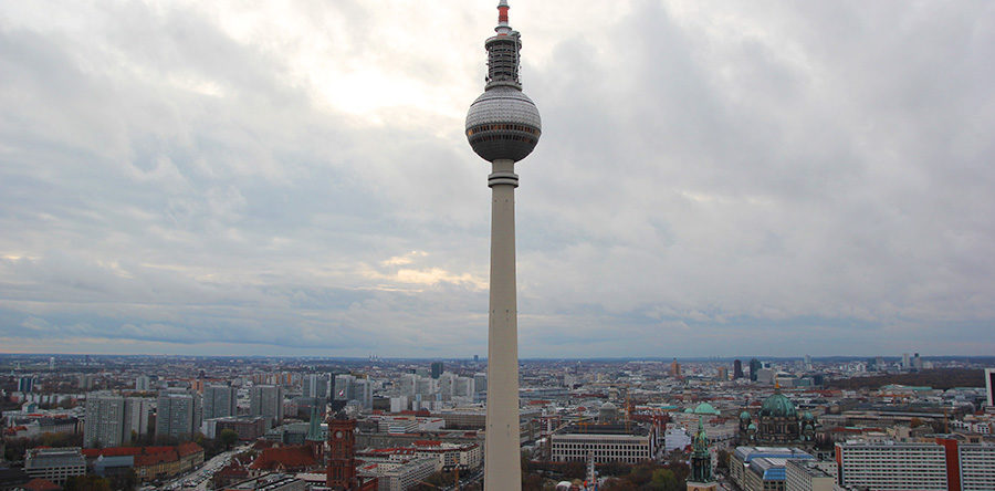 Park Inn Alexanderplatz: a vista mais legal de Berlim!