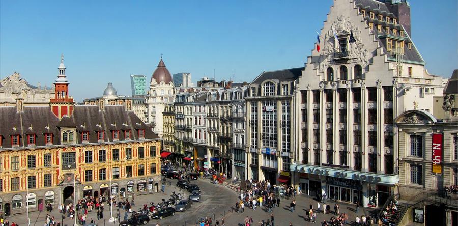 Lille: uma metrópole multicultural no norte da França